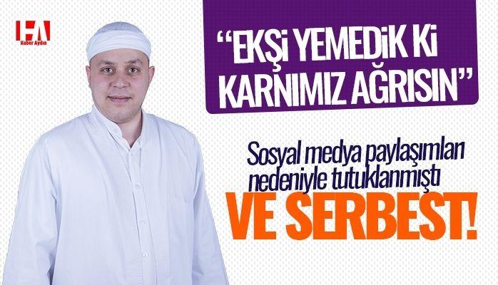 Kısa süre sonra serbest kalan Aydınlı Mehmet Hoca açıklama yaptı