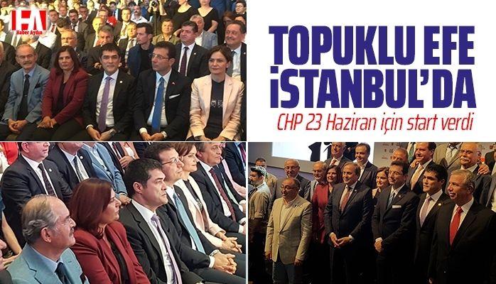 Topuklu Efe Ekrem İmamoğlu'na destek için İstanbul'da