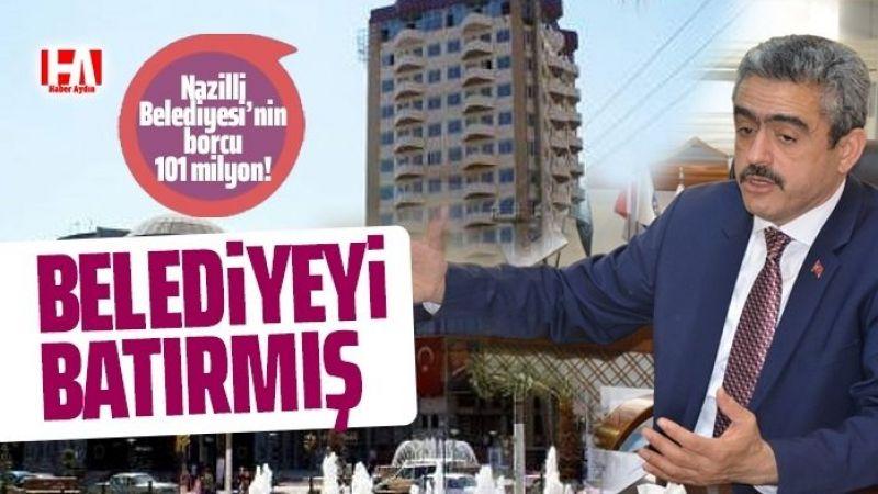 Haluk Alıcık belediyeyi batırmış!