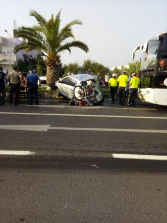 Aydın'da trafik kazası: 1 ölü, 5 yaralı