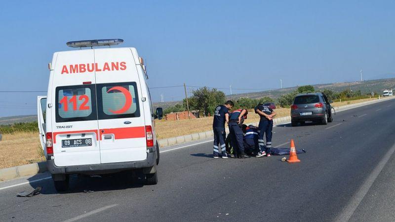 Aydın'da otomobilin çarptığı bisikletli öldü