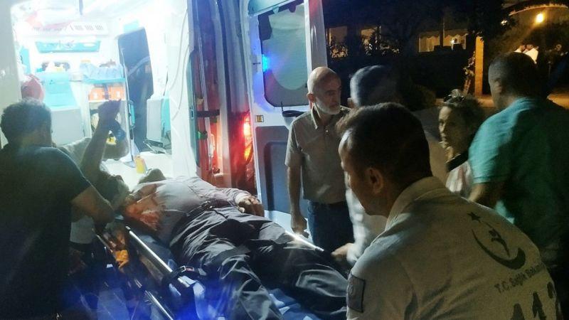 Havai fişek yerde patladı: 2 yaralı