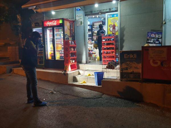 İzmir'de markete silahlı saldırı: 1 yaralı