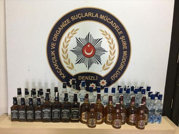 Depoyu alkol imalathanesine çevirmişler