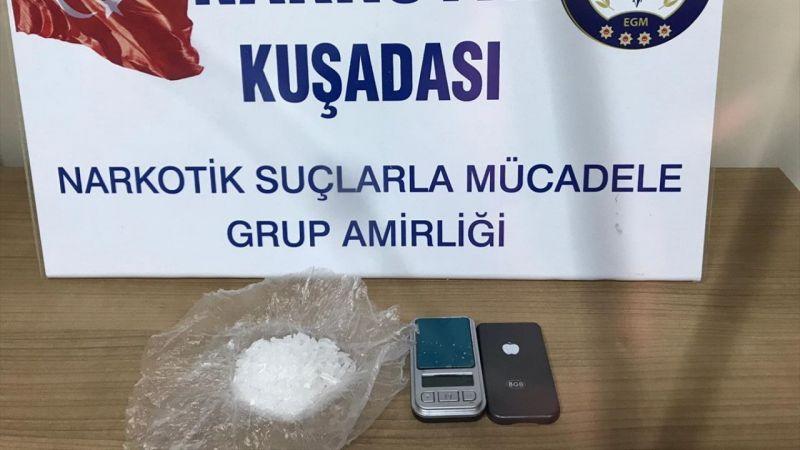 Uyuşturucu ve hassas terazi ile yakalanan kişi tutuklandı