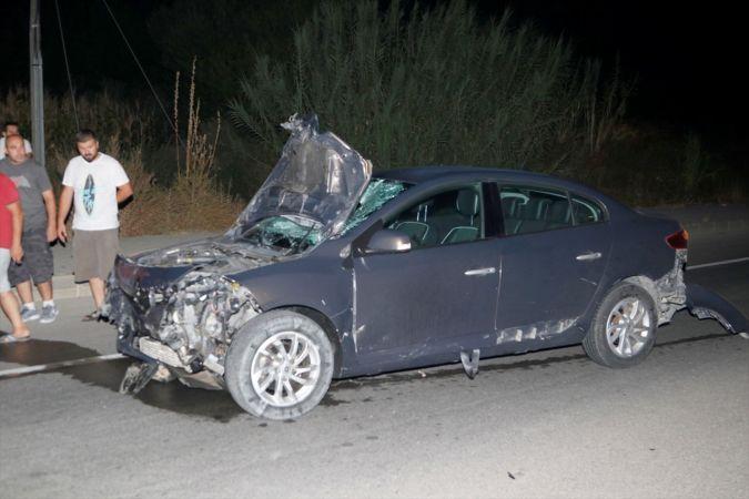 Otomobilin çarptığı motosiklet sürücüsü kadın öldü