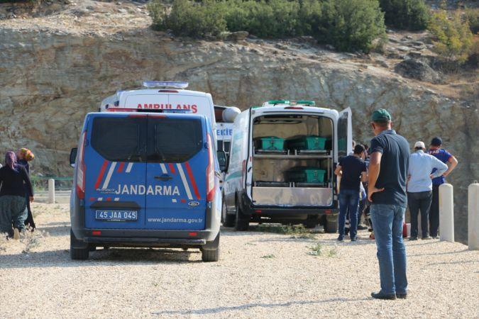 Manisa'da baraj gölünde boğulan kişinin cesedine ulaşıldı