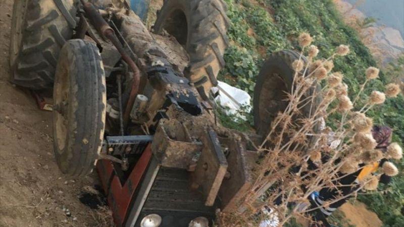 İzmir'de devrilen traktörün altında kalan kişi öldü
