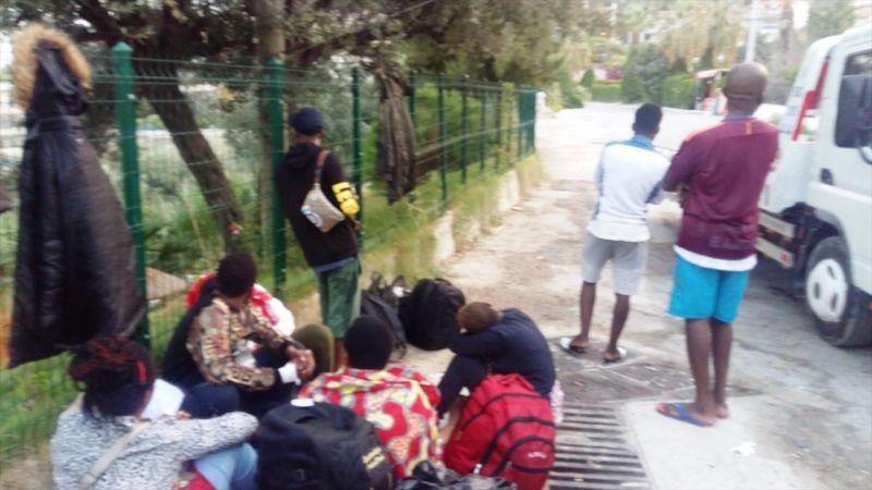 Kuşadası'nda 44 düzensiz göçmen yakalandı