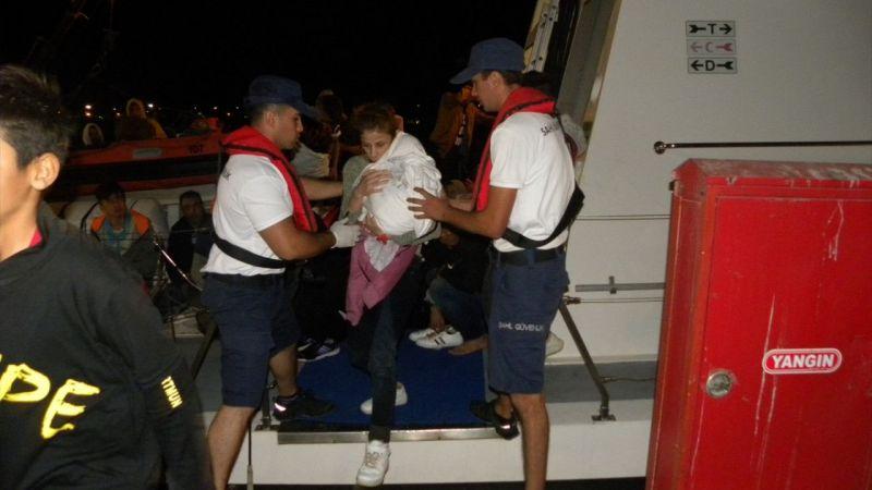İzmir'de 203 düzensiz göçmen yakalandı