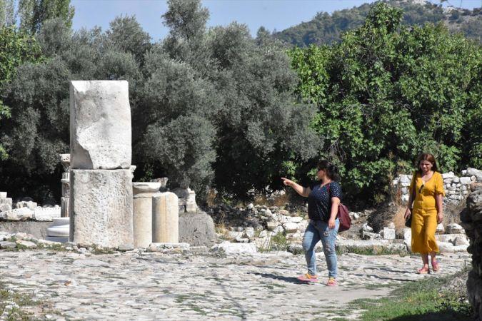 Cumhurbaşkanı Erdoğan'ın ziyareti antik kente ilgiyi artırdı