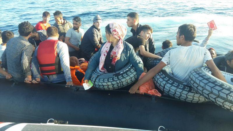 İzmir'de 181 düzensiz göçmen yakalandı
