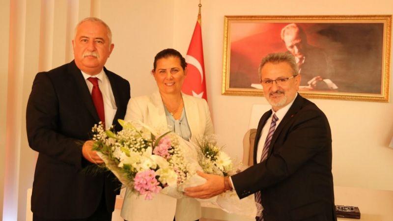 Ahilerden Başkan Çerçioğlu'na ziyaret