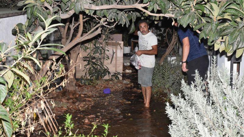 Bodrum'da su baskını