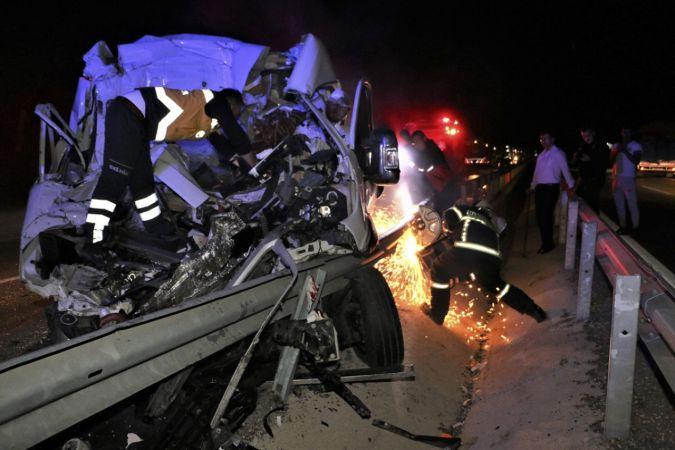 Manisa'da trafik kazası: 4 yaralı