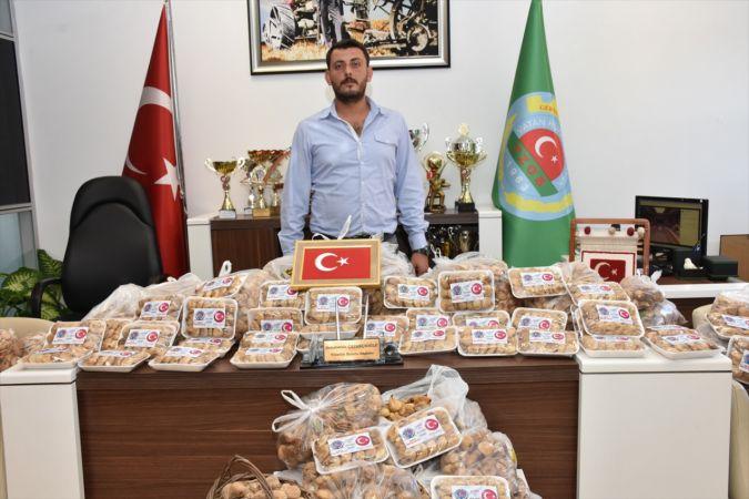 Barış Pınarı Harekatı'na kuru incirli destek