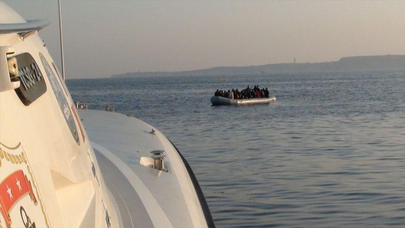 İzmir'de 314 düzensiz göçmen yakalandı
