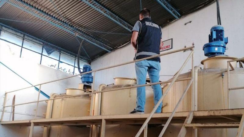 İzmir'de akaryakıt kaçakçılığı operasyonu 109 ton kaçak akaryakıt ele geçirildi