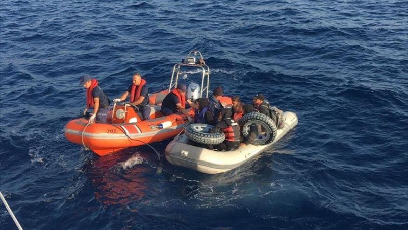 Muğla'da 8 düzensiz göçmen yakalandı