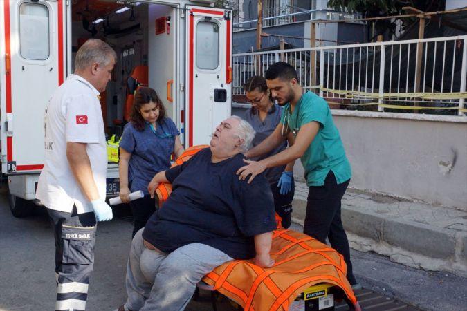 220 kiloya ulaşan hastaya yardım eli