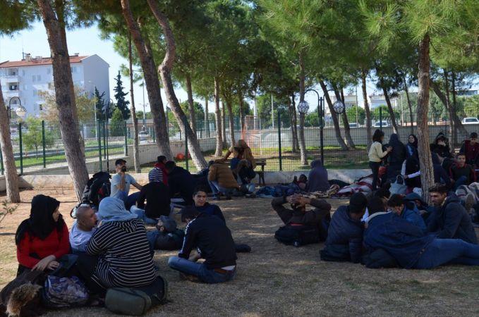 Aydın'da 92 düzensiz göçmen yakalandı