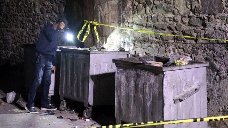 İzmir'de çöp konteynerinde patlama