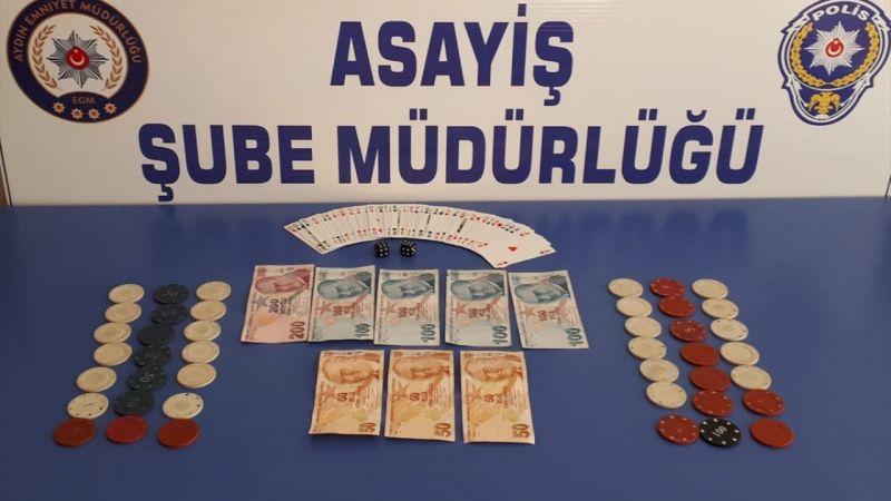 Aydın'da kahvehaneye kumar denetimi