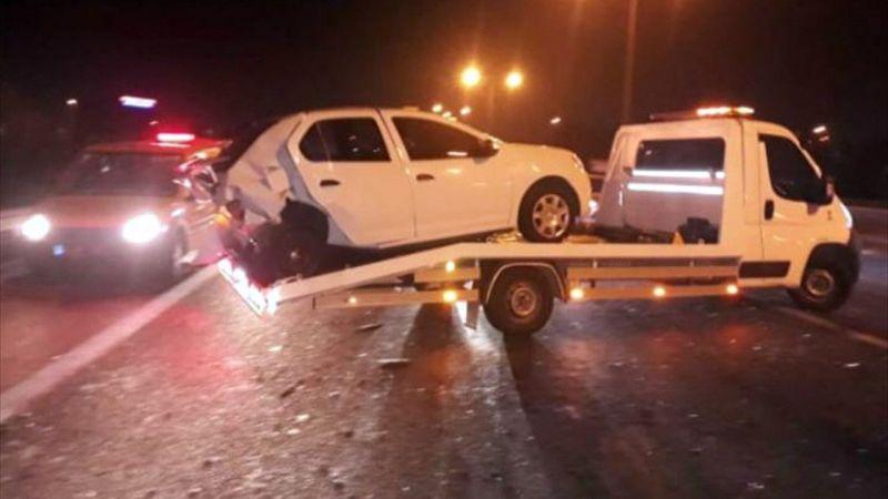 İzmir'de zincirleme trafik kazası: 1 ölü, 6 yaralı