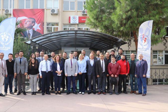 Aydın Gençlik ve Spor İl Müdürü Fillikçioğlu, gazetecilerle bir araya geldi