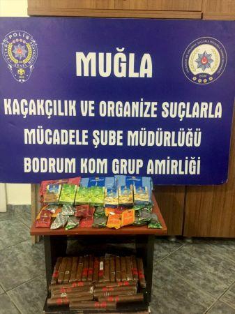 Muğla'da kaçak tütün operasyonu