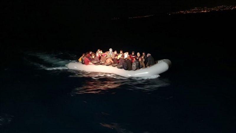 Aydın'da 55 düzensiz göçmen yakalandı