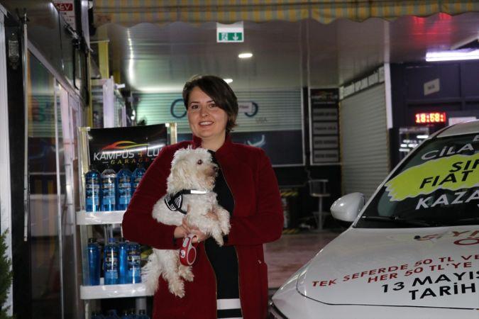 Köpeğinin kirlettiği aracı yıkatıp çekilişe katılan kadına sıfır kilometre otomobil çıktı