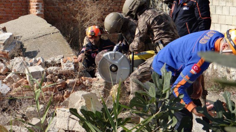 Aydın'da AFAD ekipleri ve özel harekat polisi arama kurtarma tatbikatı yaptı