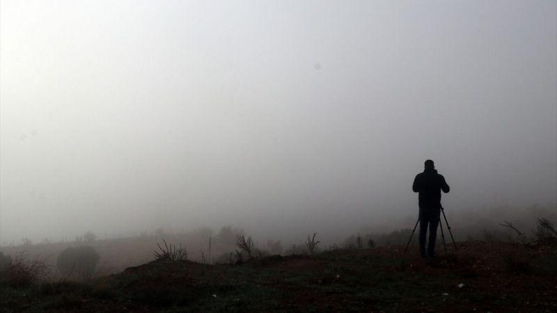 Aydın'da sis etkili oldu