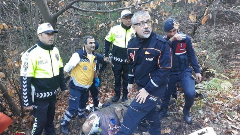 Denizli'de kaybolan kişi, kullandığı ATV'nin altında yaralı halde bulundu