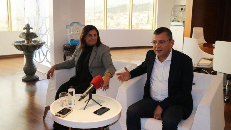 CHP Grup Başkanvekili Özgür Özel Aydın'da