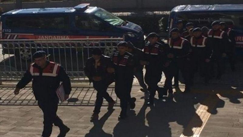 Afyonkarahisar'da hayvan hırsızlığı olayına karışan 5 zanlı tutuklandı