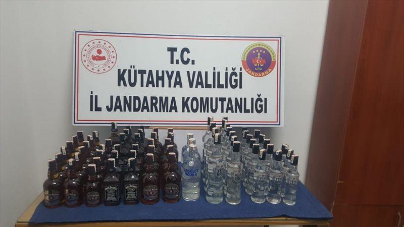 Köylere sahte içki sattığı iddia edilen şüpheli yakalandı