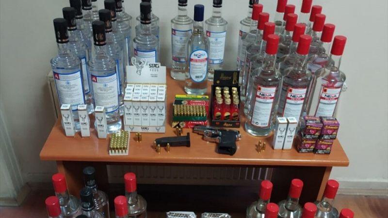 Kütahya'da etil alkol ele geçirildi