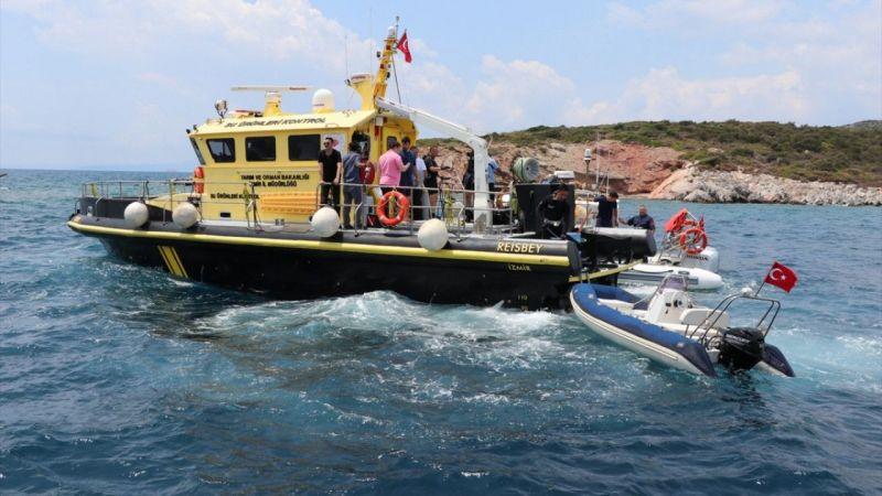 İzmir'de kaçak avlanan balıkçılara bu yıl, 183 bin 585 lira para cezası kesildi