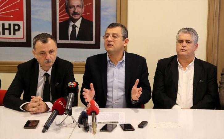 CHP Grup Başkanvekili Özgür Özel'den Kanal İstanbul açıklaması: