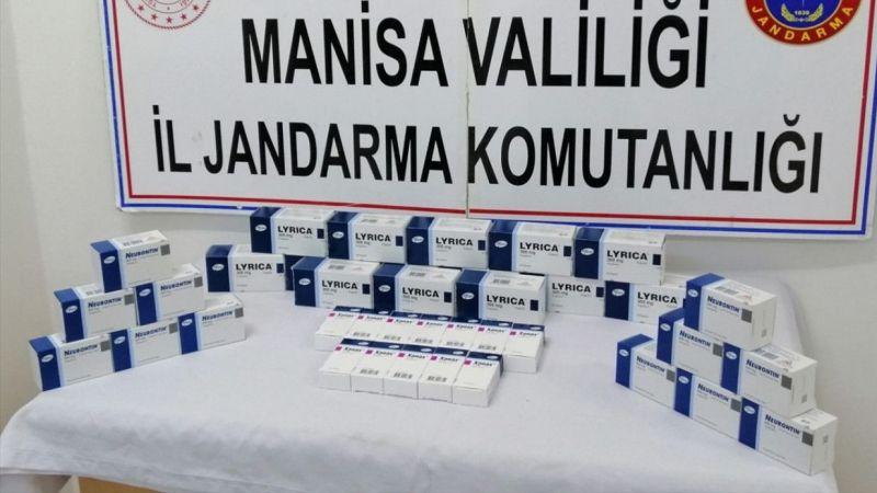 Manisa'da reçetesiz ilaç operasyonu
