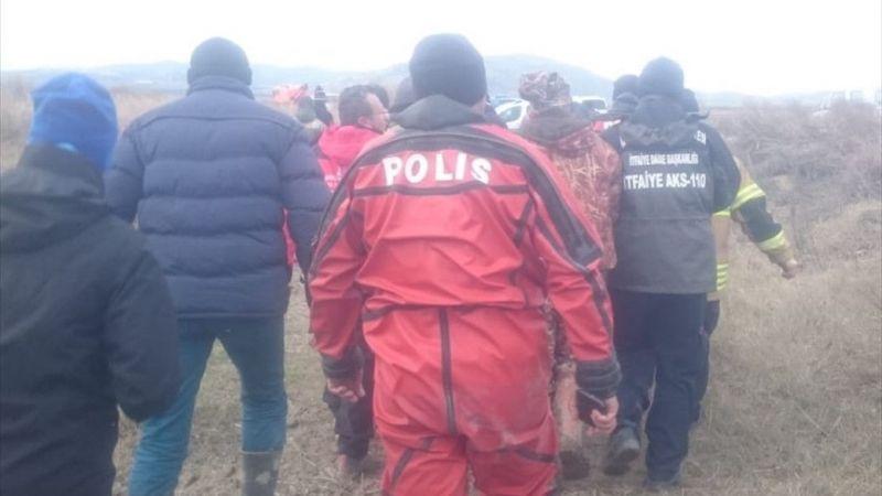 Gediz Nehri'nde tekneyle balık avına çıkan kişinin cesedi bulundu