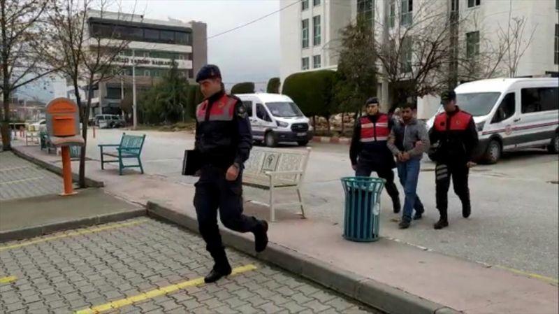 Telefon kablolarını çalan hırsızlık şüphelisi tutuklandı