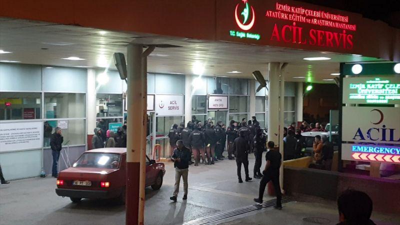 İzmir'de silahlı saldırı : 2 ölü