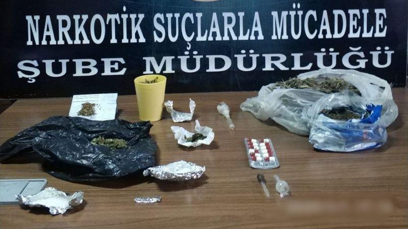 Kütahya'da yakalanan 2 uyuşturucu şüphelisi tutuklandı