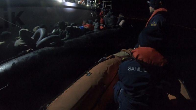 Kuşadası'nda 36 düzensiz göçmen yakalandı