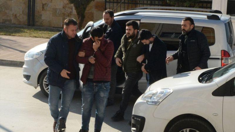 Uşak'ta inşaat işçisi cinayetine ilişkin 2 şüpheli tutuklandı