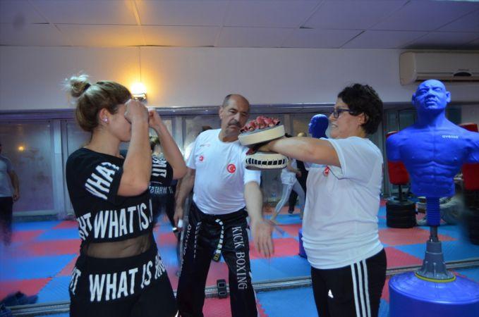 Söke'de kadınlara ücretsiz savunma sporları eğitimi