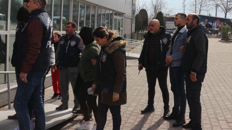Denizli'de organize suç örgütü operasyonunda 7 kişi tutuklandı